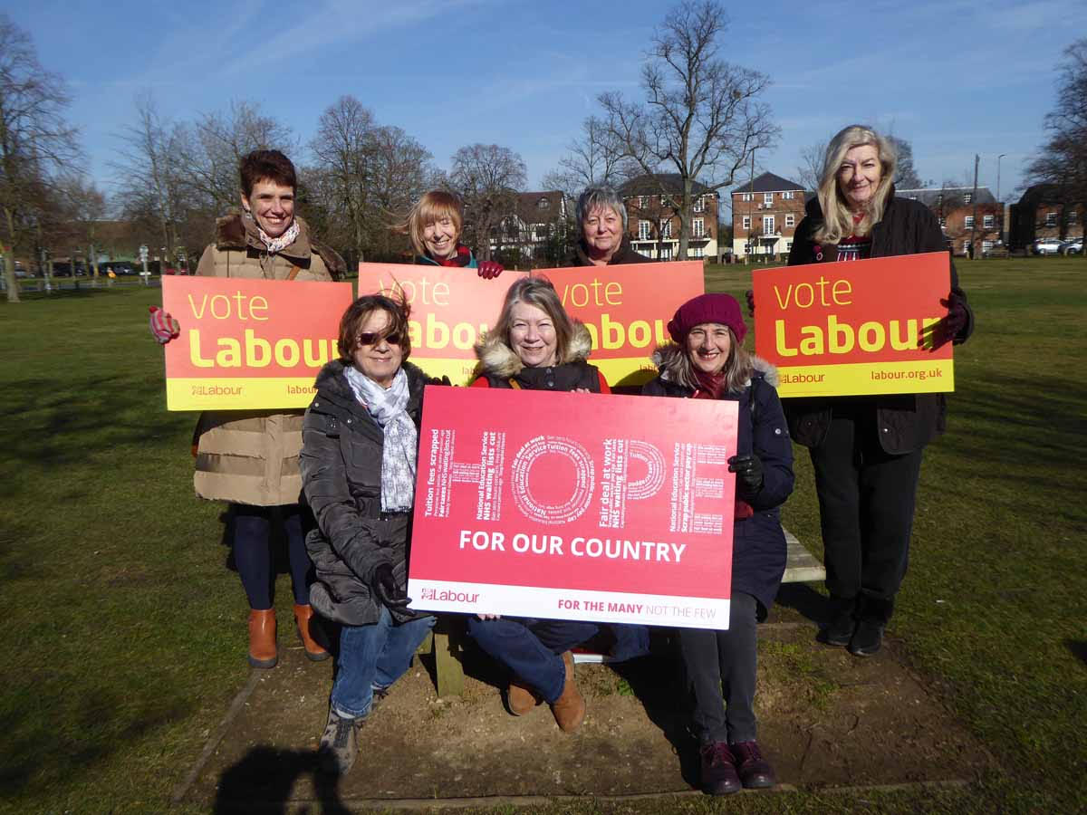 Labour women candidates 2018