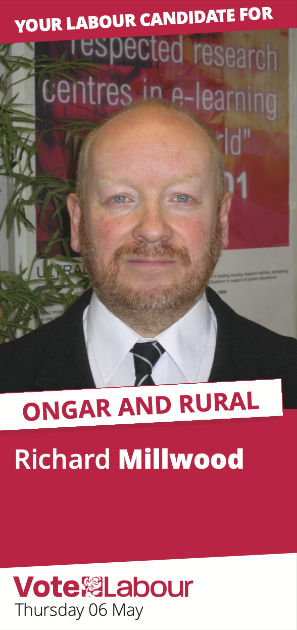 Ongar and Rural leaflet front cover
